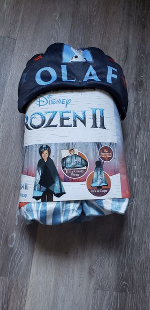 Olaf Hooded Blanket for Sale in West Berlin, NJ