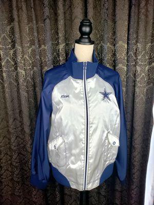 Dallas Cowboys Ladies Satin Jacket for Sale in Dallas, TX