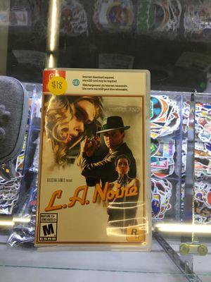 L.A. Noire - Nintendo Switch for Sale in San Bernardino, CA