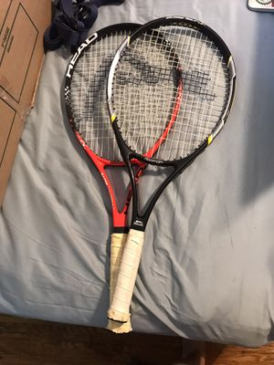 Two tennis rackets for Sale in Los Angeles, CA
