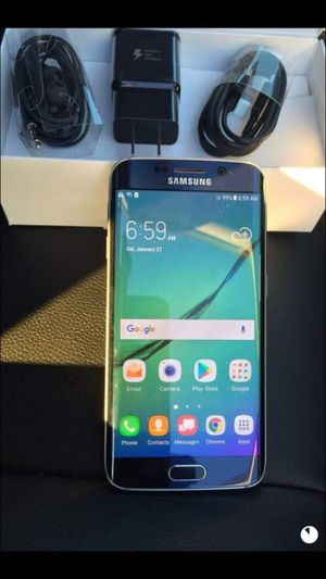 """Samsung Galaxy S6 ,edge Factory Unlocked Excellent Condition ,aS liKE AlmoSt """"nEW"""" for Sale in Springfield, VA"""
