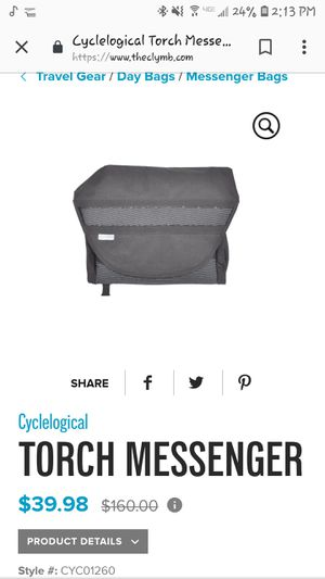 Cyclological Messenger bag for Sale in Portland, OR