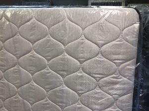 New Queen Pillowtop Mattress Set plus Bed Frame for Sale in Lynchburg, VA