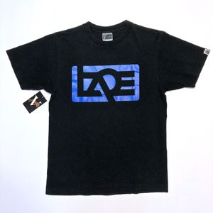 A Bathing Ape Block Spell Out Logo T Shirt Bape Size M Medium Black for Sale in Tracy, CA