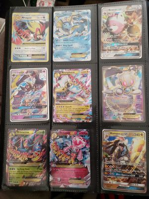 Pokemon collection gx and ex. More cards in the binder for Sale in San Diego, CA