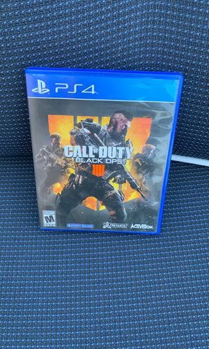 Call of duty: Black ops 4 for PlayStation for Sale in Long Beach, CA