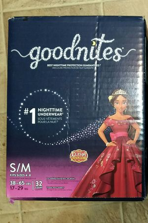 Huggies goodnight girl size s/m 32ct for Sale in Obetz, OH