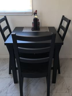 IKEA NORDVIKEN Drop Leaf Table and Chairs for Sale in Los Angeles,  CA