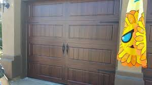 9x7 Garage door (baked on steel walnut color) for Sale in Fairview, OR