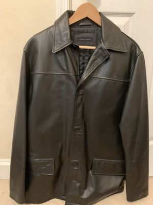 Banana republic men's leather jacket for Sale in Sully Station, VA
