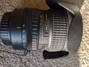 Tokina 11-16 mm - 2.8 DX-II wide angle lens for Canon mount for Sale in North Attleborough, MA