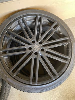 5 LUG 22 INCH RIMS FIT DODGE CHARGERS for Sale in Fort Worth, TX