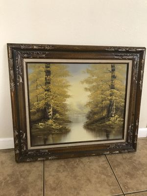 Medium vintage painting for Sale in Phoenix, AZ