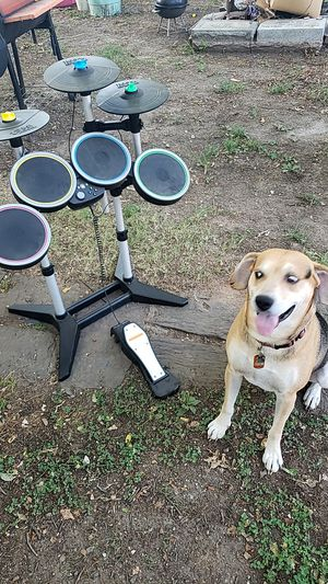 Rock Band 2 Xbox wireless drum set for Sale in Bartlesville, OK