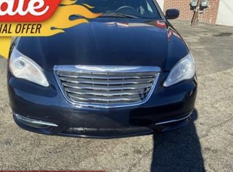 Blue 2011 Chrysler 200 Touring for Sale in Dearborn,  MI