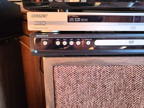 SONY/ MAGNAVOX DVD PLAYERS, $20 A PIECE OR $35 FOR BOTH.