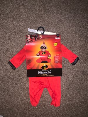 Brand New 6-12 Month Incredibles 2 Jack-Jack Halloween Costume 👻 for Sale in Glendale Heights, IL