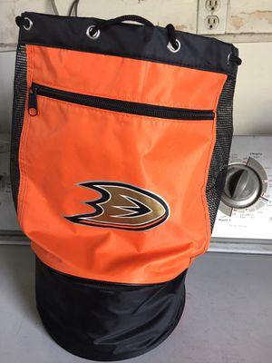 Ducks bag with mini cooler on bottom for Sale in Orange, CA