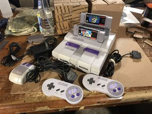 Super Nintendo Console Bundle w/ Games + Accessories for Sale in Theodore, AL