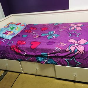 bed for boy or girl has drawers to store very spacious clothes, does not include mattress for Sale in Nanuet, NY