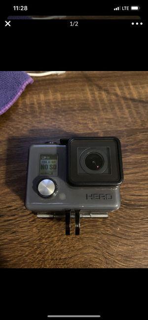 GoPro HERO Waterproof Action Camera Model HWBL1-Grey for Sale in San Fernando, CA