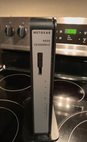 Netgear modem for Sale in Seattle, WA