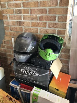 Suzuki motorcycle helmet for Sale in Upper Marlboro, MD