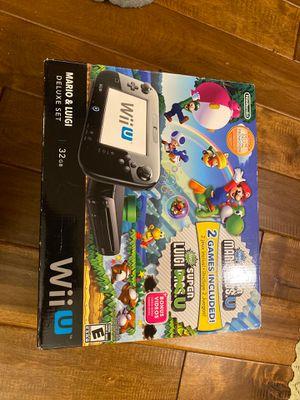 Wii U Nintendo Super Mario for Sale in Woodbridge, VA