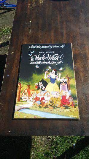 Disneys snow white print for Sale in Warren, MI