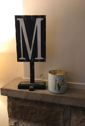 """""""M"""" decor for Sale in Parma, OH"""