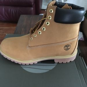 Timberland Premium 6 Inch Boots. Men 10.5. Brand New In Box. $213.00 in-store with tax. for Sale in Atlanta, GA