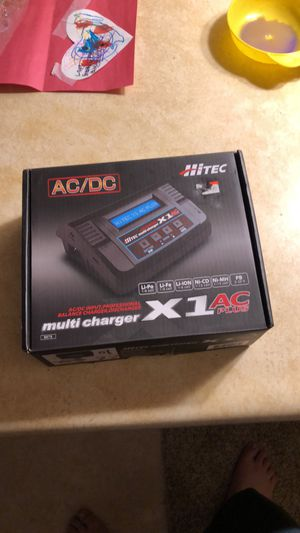 Rc car/truck/plane/boat charger. Its. A X1 multi charger by hi-tec for Sale in Nisswa, MN