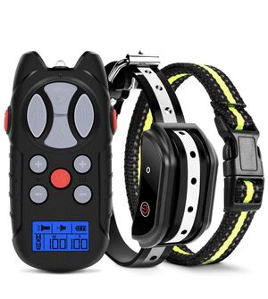 Shock Collar for Dogs, 2019 Newest Flittor Dog training Collar, Rechargeable Dog Shock Collar with Remote, 3 Modes Beep Vibration and Shock 100% Wate for Sale in Montebello, CA