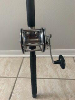 Penn Senator 113 4/0 fishing reel on a 6 1/2' Penn Long Beach rod for Sale in Sanford, FL