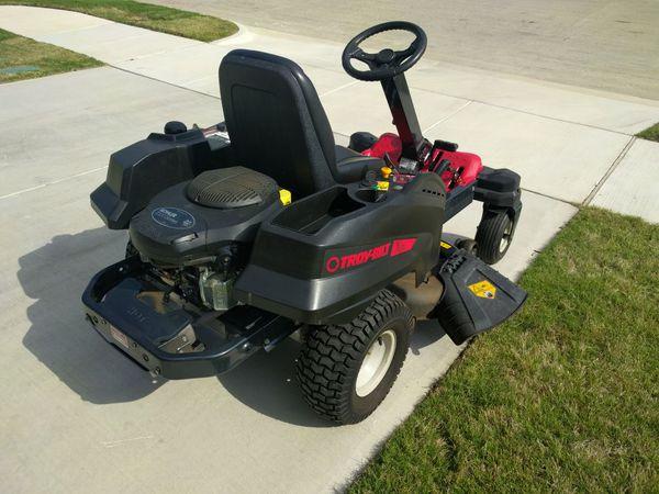 Troy-Bilt XP Mustang Pivot 46 XP 22-HP V-Twin Dual Hydrostatic 46-in  Zero-Turn Lawn Mower for Sale in Fort Worth, TX - OfferUp