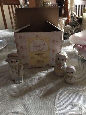 Precious moments snowmen for Sale in Clovis, CA
