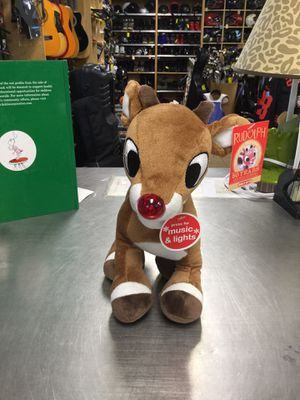 Rudolph the Red Nose Reindeer Interactive Stuffed Animal for Sale in Matawan, NJ