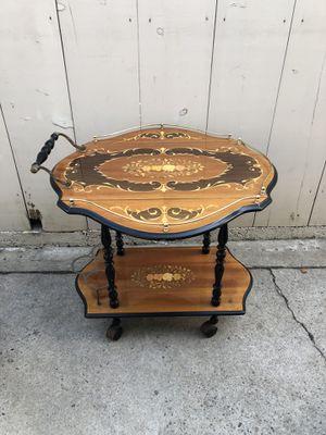 Antique serving cart for Sale in Orange, CA
