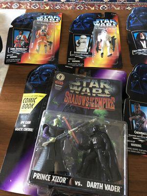 Vintage Star Wars action figures for Sale in Arlington, VA