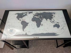 Glass top desk for Sale in El Cajon, CA