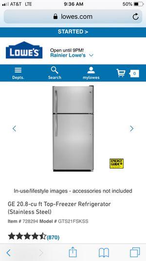 Like-new GE fridge for Sale in Seattle, WA