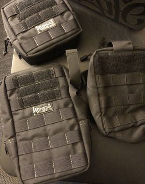 Maxpedition MOLLE/PAL Attachments for Backpack ETC 5.11 Tactical for Sale in Everett, MA