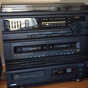 All In One Stereo With Record Player/CD/Cassette Player for Sale in Lakeside, CA