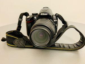 Nikon D5000 DSLR Camera Kit with Nikon AF 18-55mm VR Lens for Sale in Washington, DC