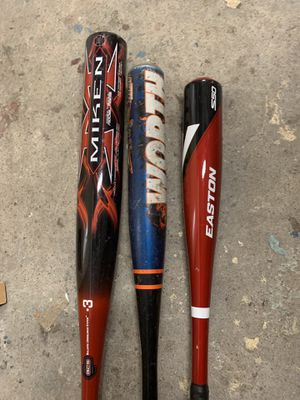 3- baseball bats for Sale in Queens, NY