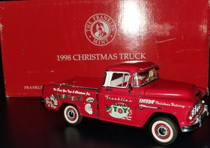 "The Franklin Mint ""1998 Christmas Truck "" for Sale in North Richland Hills, TX"