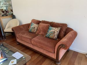 Dining room set and couch for Sale in Golden, CO