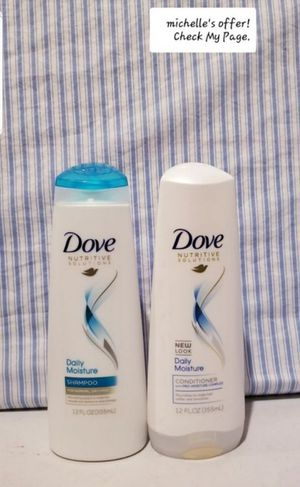 Dove shampoo& conditioner/ Daily moisture set for Sale in Temple Hills, MD