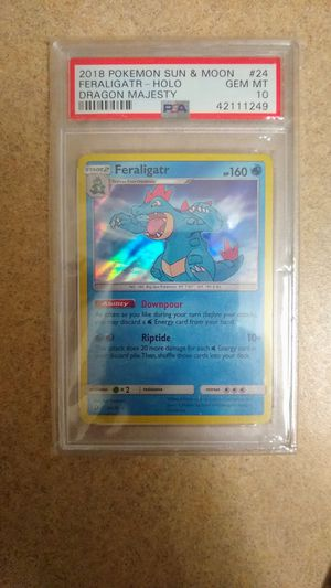 Pokemon Feraligatr Holo PSA 10 Gem Mint for Sale in Lynnwood, WA