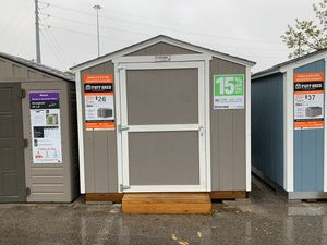 Tuff Shed 8x8 KR600 display for sale 15% off includes delivery from the Slaughter Lane Home Depot within 30 miles. Must be able to get a truck into t for Sale in Austin, TX